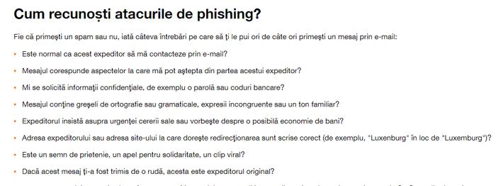 siguranta pe net phishing