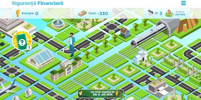 joc online educatie financiara