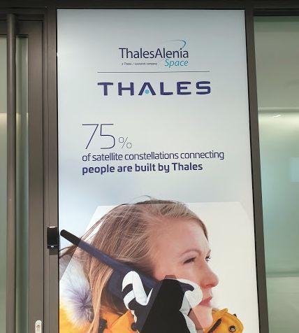 Thales Goupt este producator de soluții pentru spatiul cosmin