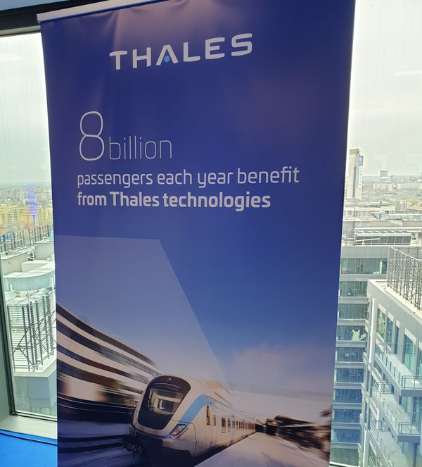 statisitica Thales Group