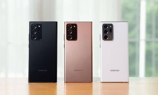 Samsung Note20 ultra 5G